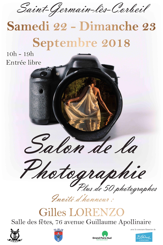 Salon de la photographie à Saint Germain Lès Corbeil les 22 et 23 Septembre en INVITE D'HONNEUR