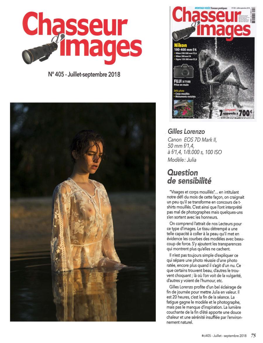 Parution Sur le Chasseur d'Images N° 405 de Juillet-Septembre 2018